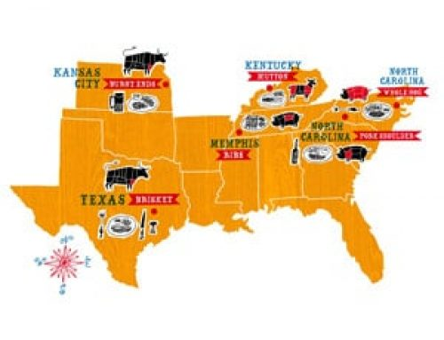 The United States of Barbecue: Guide to Four Major Regional Styles