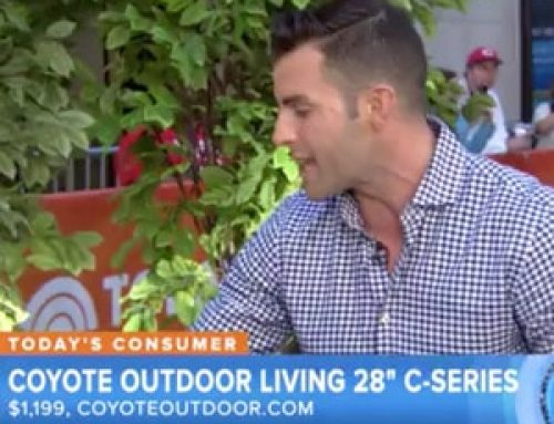 "Coyote Grills Featured on NBC's ""Today Show"""