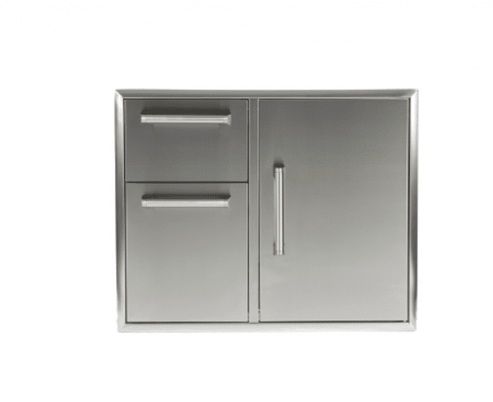 "31"" Combination Storage: Door and Drawers Cabinet (Model: CCD-2DC31)"