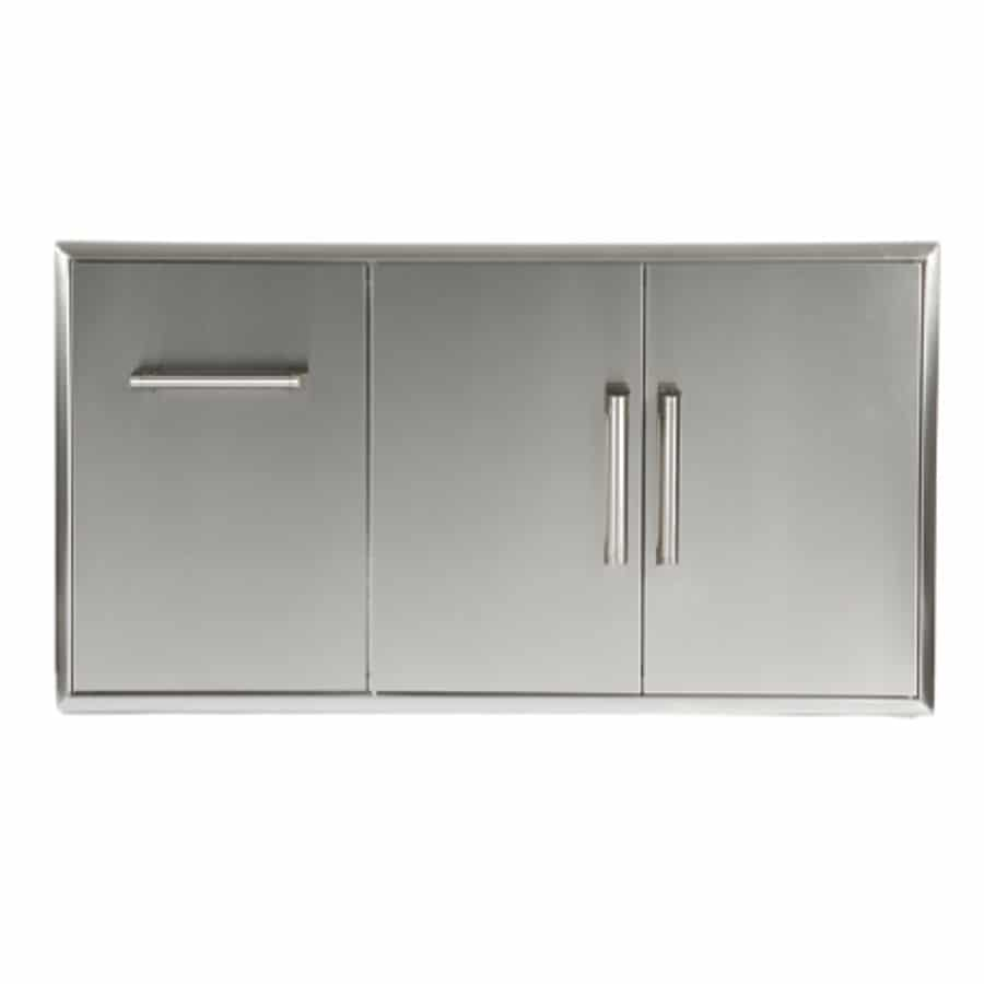 Combination Storage: Drawer & Double Access Doors (Model: CCD-POD)