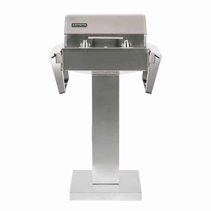 Coyote Electric Grill on Pedestal