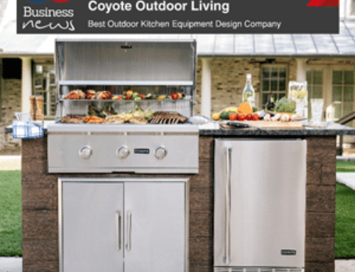 Coyote Outdoor Wins a Business Elite Award for Outdoor Kitchen Design