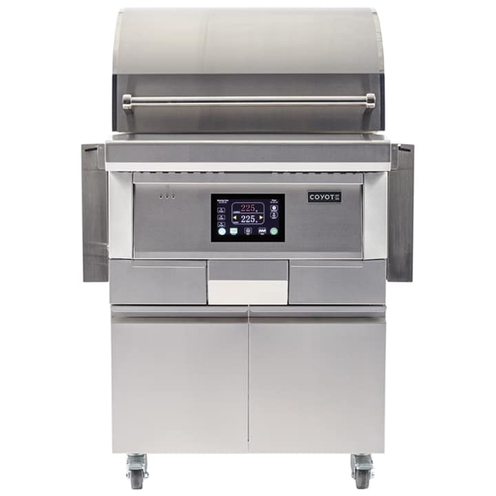 Coyote 28-Inch Freestanding Pellet Grill