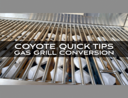 Coyote Grills and Skills: Quick Tips from Chef Jonathan Collins on Gas Grill Conversion
