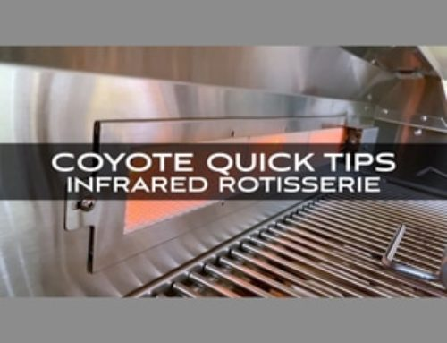 Coyote Grills and Skills: Quick Tips from Chef Jonathan Collins on the Infrared Rotisserie