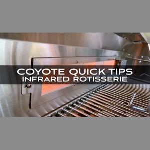 Coyote Infrared Rotisserie