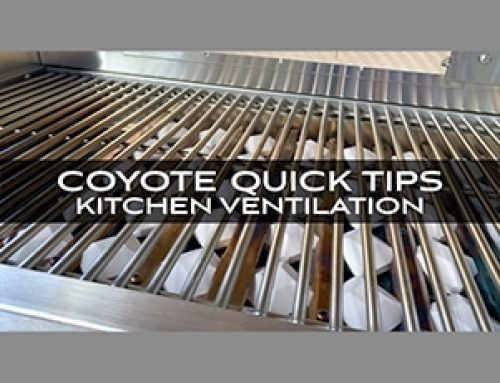 Coyote Grills and Skills: Quick Tips from Chef Jonathan Collins on Kitchen Ventilation