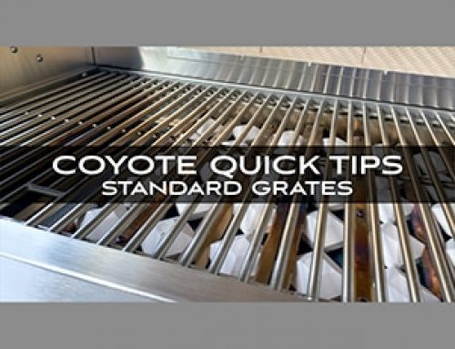 Coyote Grills and Skills: Quick Tips from Chef Jonathan Collins on Standard Grates