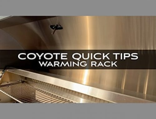 Coyote Grills and Skills: Quick Tips from Chef Jonathan Collins on Warming Rack